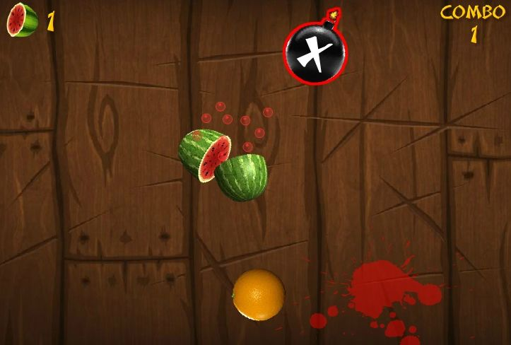 Android, iOS uyumlu telefon ve tabletlerde oynanan Fruit Ninja oyununu şimdi bilgisayarınızda oynayabilirsiniz.  http://www.garajoyun.com/fruit-ninja.html  #FruitNinja