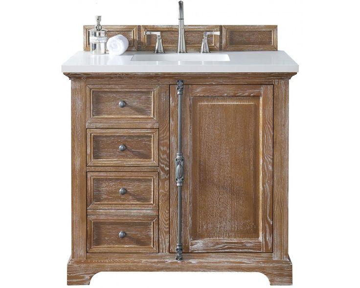 """Providence 36"""" Driftwood Single Bathroom Vanity"""