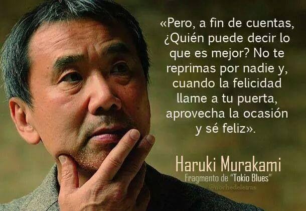 Haruki Murakami...