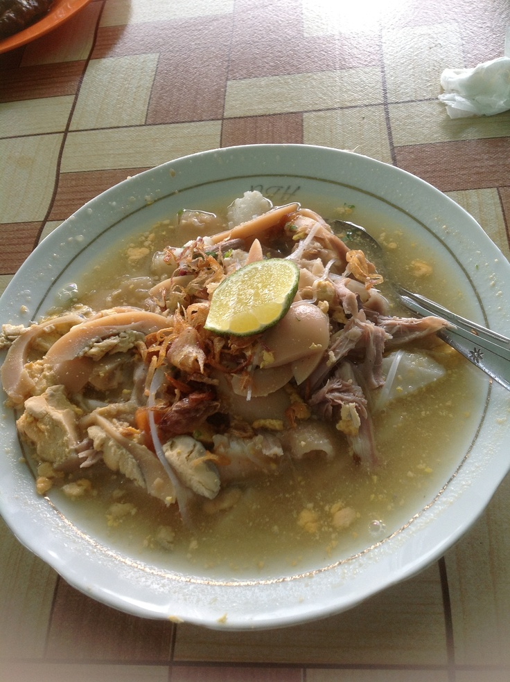 Soto Banjar - Traditional Food from Banjarmasin, Indonesia.