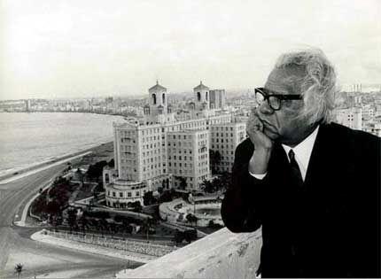 Nicolas Guillén à La Havane