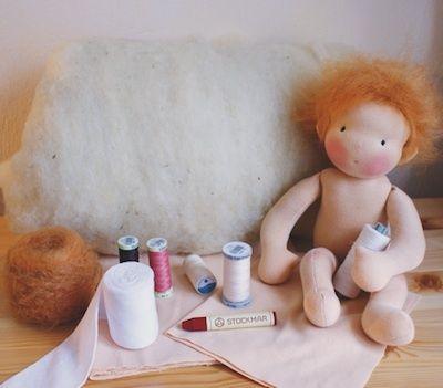 Baby Twink Materialpackung von Mariengold - Handgemachte Puppen, DIY und Kurse auf DaWanda.com