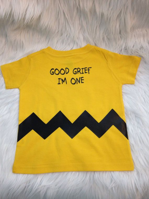 Charlie brown shirt. Baby T Shirt six month 12 by Babymefancy