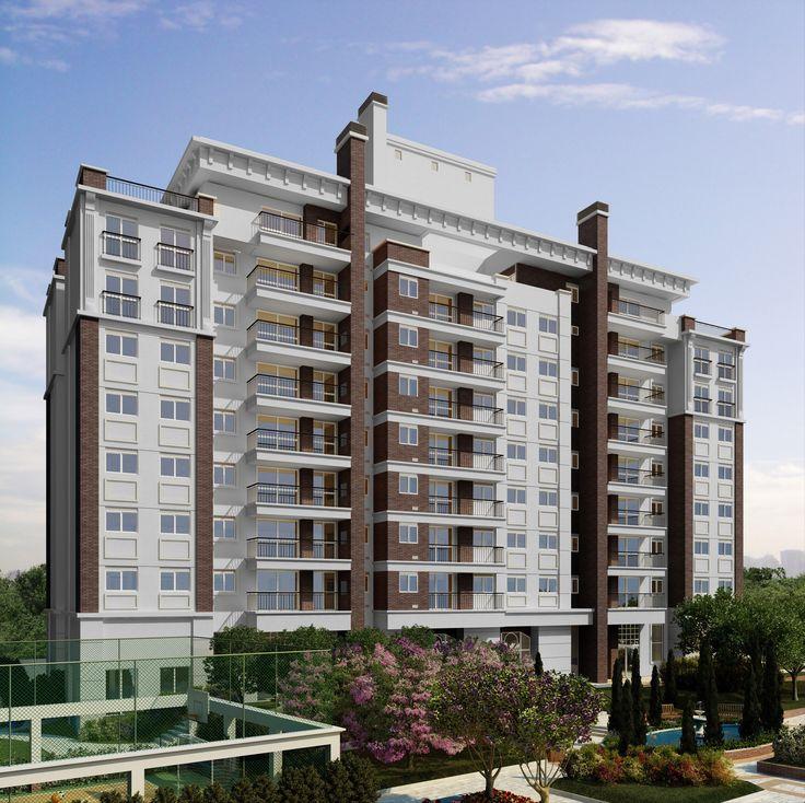 Fachada | WestSide Comfort Residences –  Vila Izabel  - Curitiba - Paraná