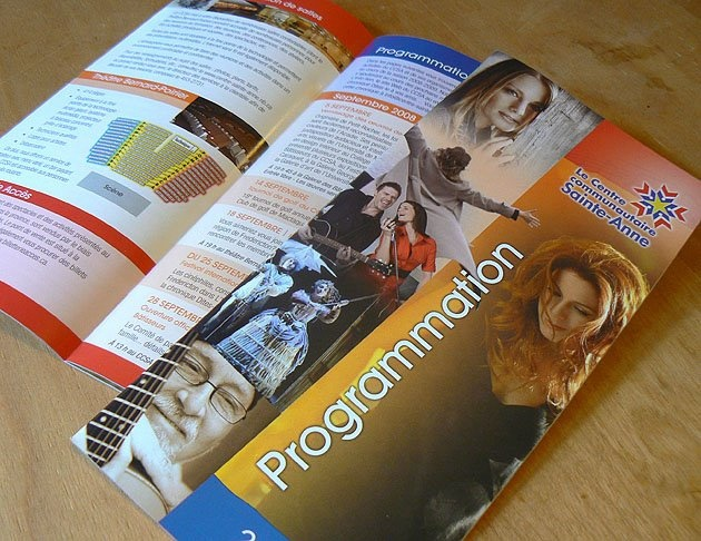 Programme de saison - Centre culturel Sainte-Anne