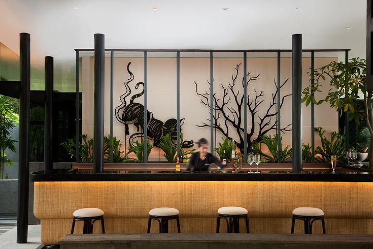 Bar with Shadow Box - backdrop