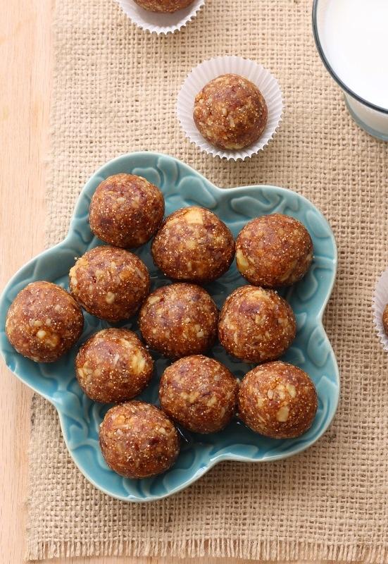 Date and Fig Ladoo (Grain-Free, Sugar-Free Indian dessert balls)