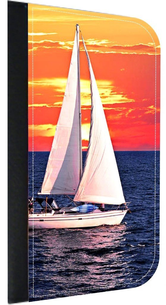 Scenic Sailboat Sunset Apple iPhone 7 Universal (Not Compatible with the iPhone 7 Plus) PU Leather Wallet Case with Flip Cover and Magnetic Clasp. Quality Leather-Look Wallet Case with Flip Cover and Magnetic Clasp Compatible with the Standard Apple iPhone 7 Universal (Not Compatible with the Apple iPhone 7 Plus). Bright, Eye-Catching Flat-Printed Image on Metal Substrate with Glossy Finish. Made and Manufactured in the U.S.A. Excellent Customer Service! Great Gift Idea!. As the sole...
