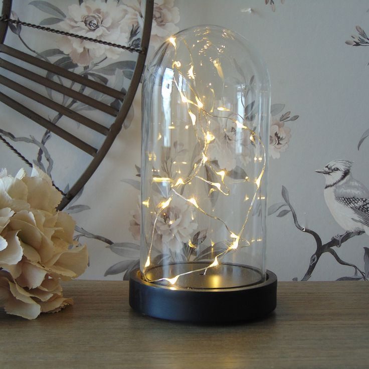 How beautiful is this LED fairy light dome