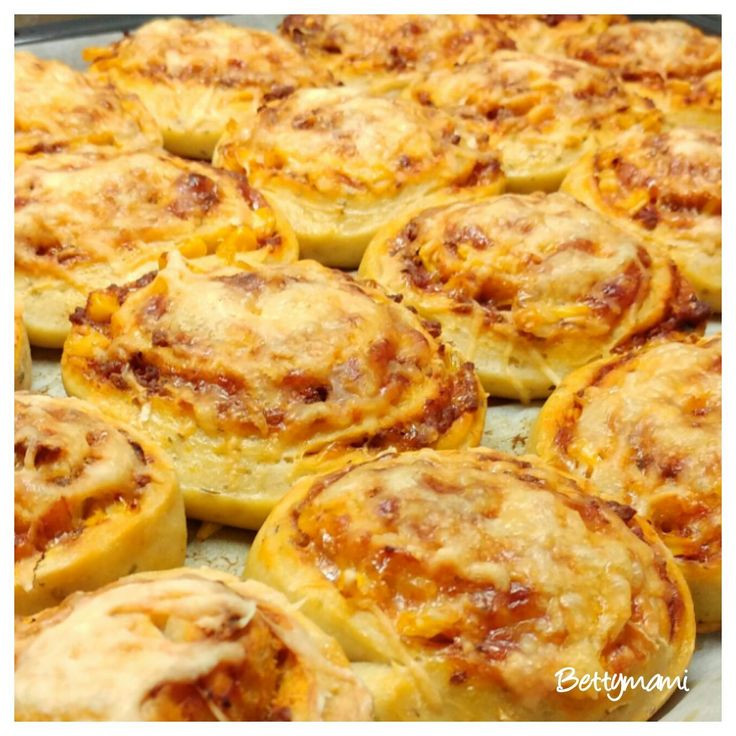 Pizzás csiga | Betty hobbi konyhája