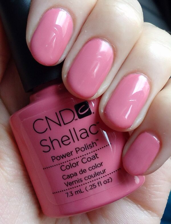 Shellac CND rose bud