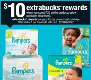 CVS: PRINT ASAP for $4.50 Pampers Jumbo Pack Diapers starting 1/4! - http://www.couponaholic.net/2015/01/cvs-print-asap-for-4-50-pampers-jumbo-pack-diapers-starting-14/