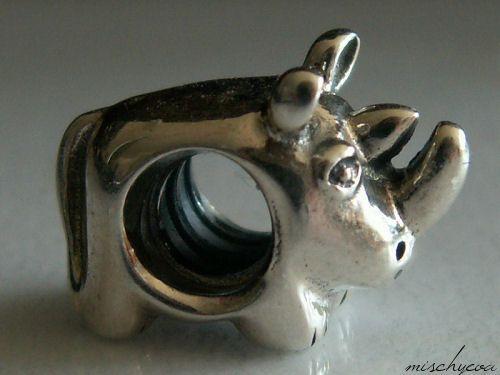 RHINO Rhinoceros Charm