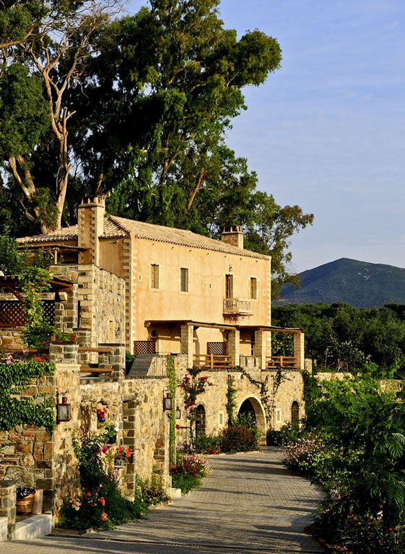 Kinsterna Hotel & Spa in Monemvasia, Greece