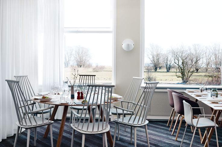 Restauranten på Comwell Køge Strand  #restaurant #lokale #hay #møbler #comwell #comwellkoegestrand #køge