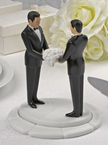 Ty Wilson Gay Interracial Interchangable Wedding Cakeside Figurines  More  Races Available. Cake Topper ...