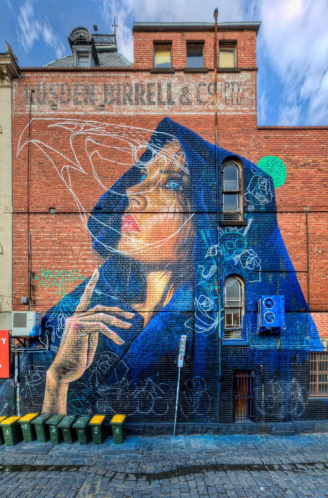 Street Art by Adnate x TwoOne - Fitzroy, Melbourne