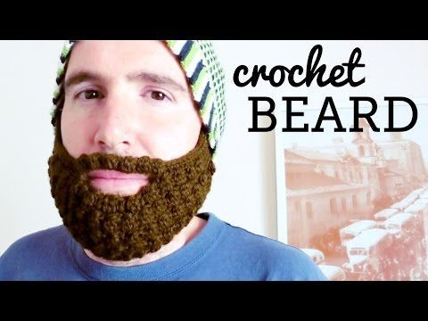 Crochet Beard Tutorial (all hats, all sizes), My Crafts and DIY Projects