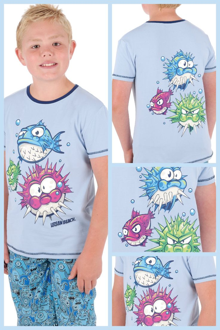 Urban Beach Funky Fish Boys T-shirt. £9.99 www.nautirachael.com