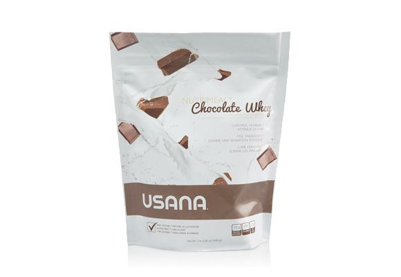 USANA Chocolate Whey Nutrimeal™ - Low-glycemic, free-gluten, soy protein meal replacement shake. Preferred Price $34.95