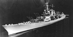 The Montana class battleship was designed to be the successor to the four Iowa class fast battleships in service during World War II, a further two Iowa class battleships were under construction but scrapped at the end of the war.