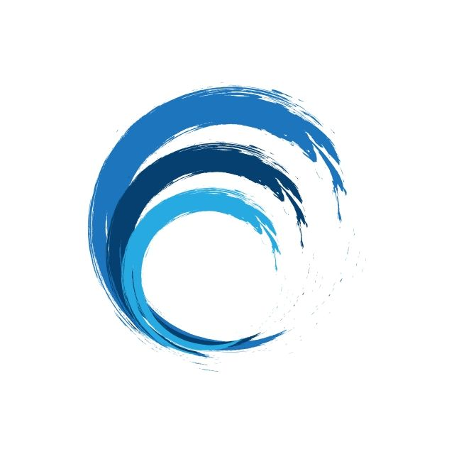 Abstract Wave Business Logo Circle Icon Business Png And Vector With Transparent Background For Free Download Abstract Waves Business Logo Waves Logo
