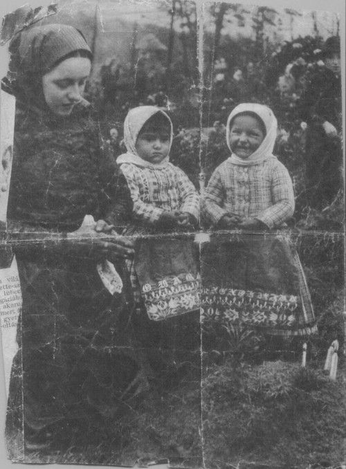 Day of the dead/Feast of All Souls/, Csömör, Hungary 1940