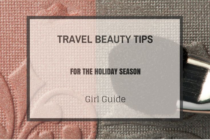 Are you spending most of the holiday season on the road and want to look great without having to bring a lot of products? A Girl Who Travels has put together a great guide to help out with this :)