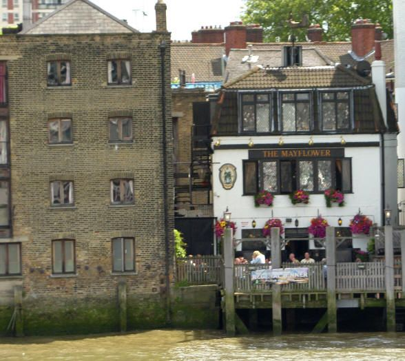 "The Mayflower, Rotherhithe, is ""a hidden gem that few know of"" on the river in Rotherhithe Village"