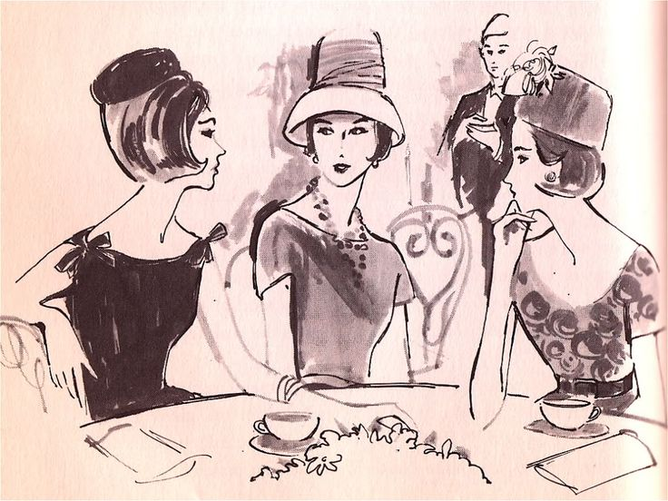 what-i-found: The Ladies Who Lunch