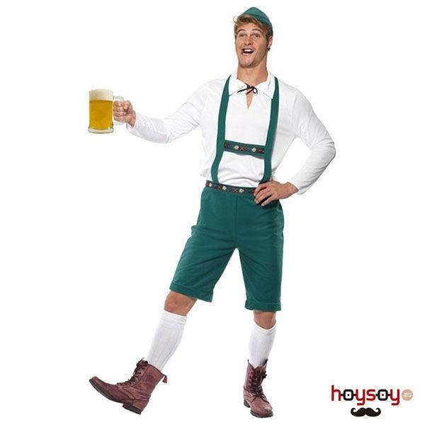Pásatelo en grande con este completo #disfraz de #tirolés en la fiesta de la #cerveza. No es imprescindible estar en Munich para disfrutar de #oktoberfest #Disfraces #Carnaval