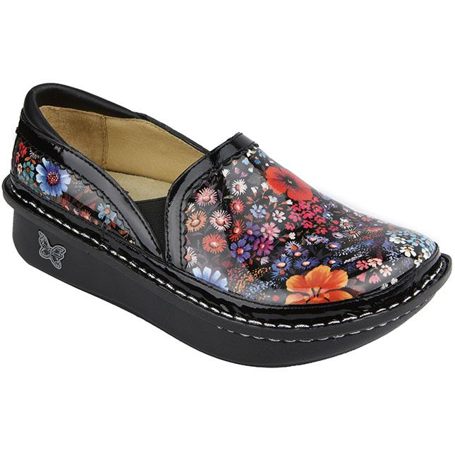 Alegria Debra in Midnight Garden $119.95. Famous for all day comfort  Alegria's are great on · Shoes ...