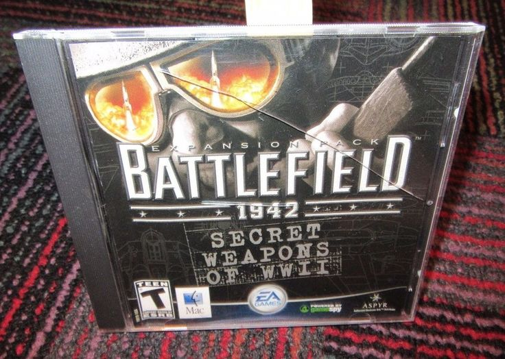 BATTLEFIELD 1942: SECRET WEAPONS OF WWII EXPANSION PACK DVD-ROM FOR MAC, EUC
