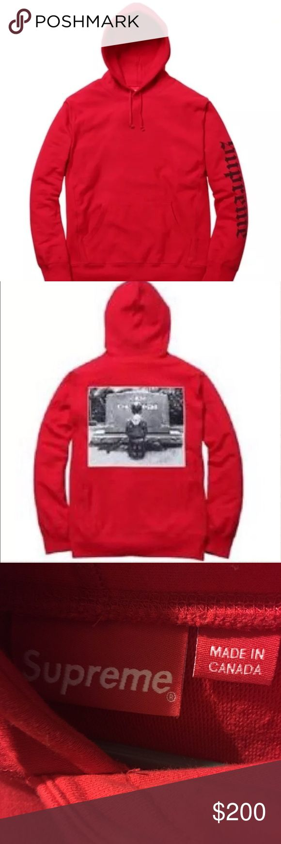 supreme hooded dead Kennedy edition men's sz md Authentic supreme men's hooded  dead Kennedy edition sz medium great condition and clean Supreme Sweaters