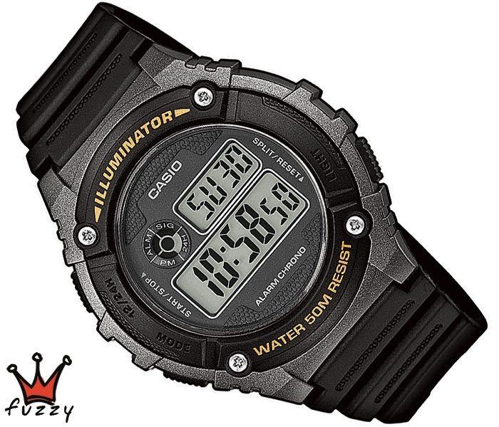 Ρολόι ανδρικό Casio (W-216H-1BVEF)