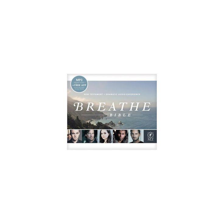 Holy Bible : Breathe Bible Audio New Testament, New Living Translation (MP3-CD)