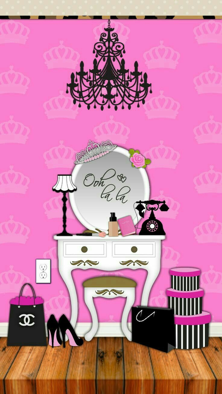 Wallpapers Meu Tema Diy Chanel