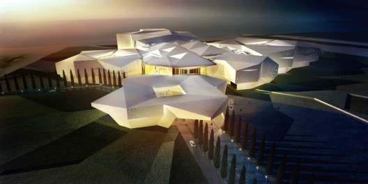 Awaza Touristic Region Masterplan – Congress Hall and Convention Centre by RTA-Office