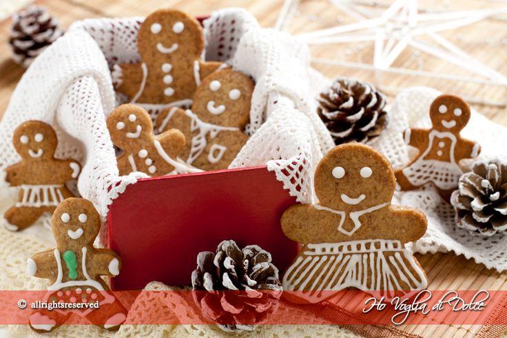 Gingerbread men - Biscotti di pan di zenzero