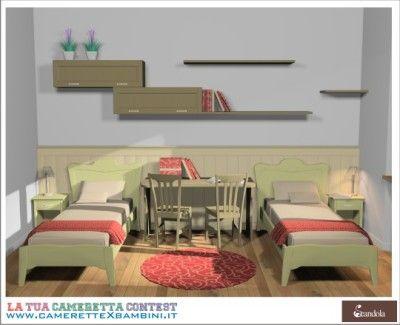 Camerette classiche Scandola Mobili