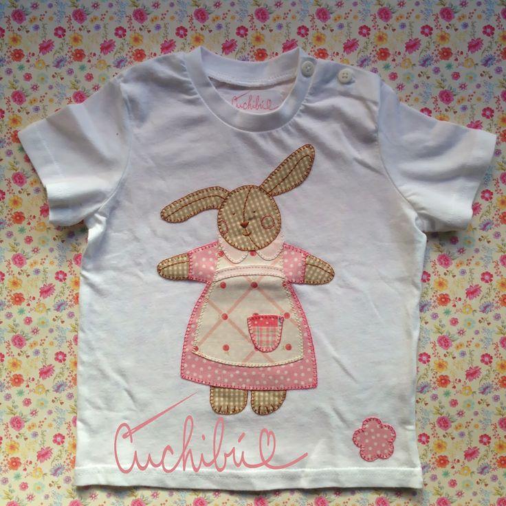 camisetas para beb s decoradas con aplicaciones de telas