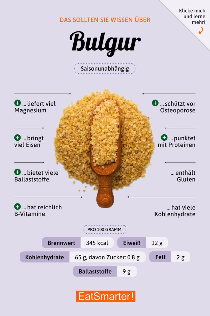 Bulgur – EAT SMARTER