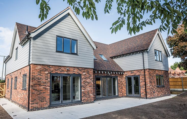 If you're searching for a hassle-free exterior finish that requires minimal upkeep, then check out our guide to low-maintenance cladding: http://www.self-build.co.uk/guide-low-maintenance-cladding