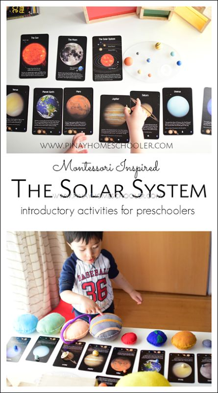 Exploring and learning about the space and planets for preschoolers  #preschool #space #planets #astronomy #kidactivities #learningactivities #solarsystem