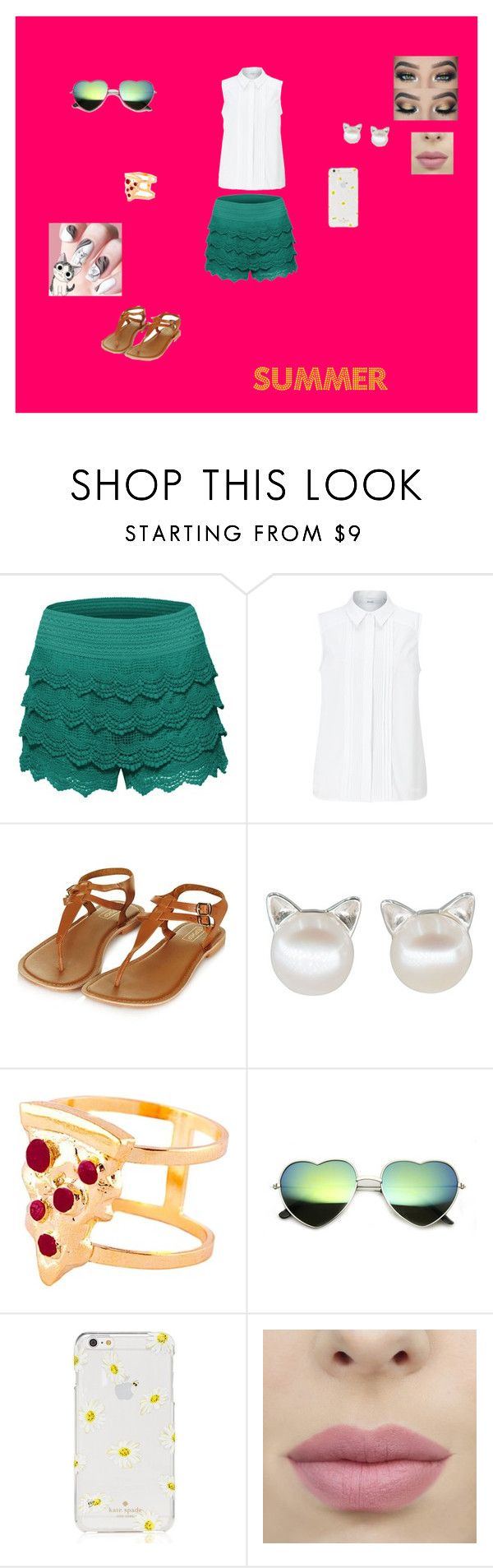 """""""Ready for summer <3"""" by e-ramsey ❤ liked on Polyvore featuring John Lewis, Glenda López and Kate Spade"""
