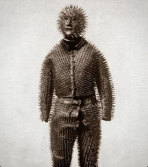 Uniform to hunt bears in Siberia in the 19th century
