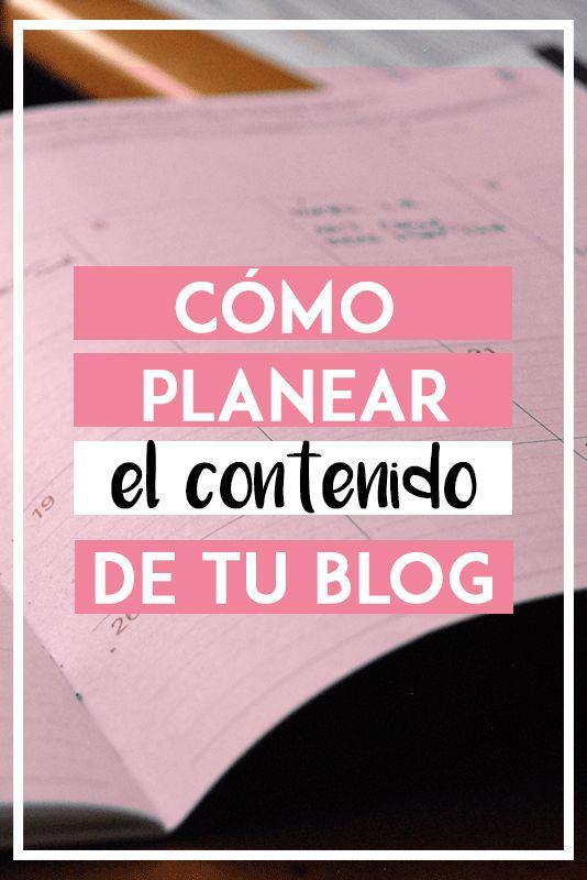 El secreto para tener contenido constante en tu blog