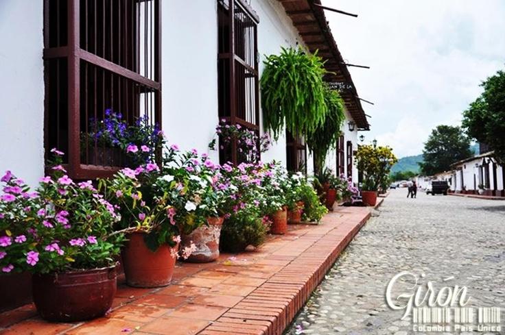 Villa de los Caballeros de la Santa Cruz y San Juan de Giron, Simplemente Giron, Santander Colombia por Alfredo Iguaran@Colombia Pais Unico