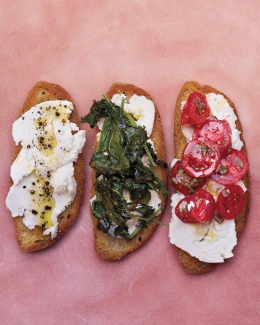 Ricotta Crostini Recipe