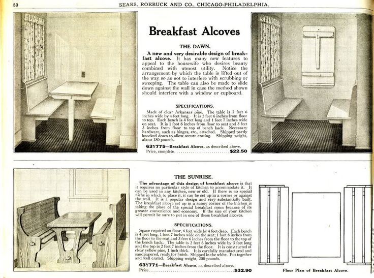 Best Craftsman Bungalow Research Images On Pinterest - Craftsman bungalow kitchen breakfast nooks